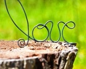 Whimsical Love Cake Topper Rustic Romance Southern Wedding Farm Country Barn Cake Top