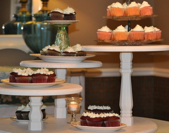 Wedding Party Cupcake Stand Pie Candy Bar Display By