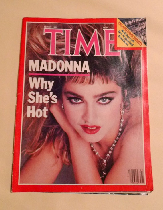 1985 Madonna in the cover Time magazine