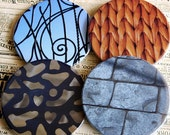 Coaster Set of 4 - The Patterns Series