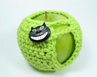 PDF Crochet Pattern - Adorable Apple Cozy