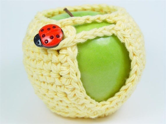 PDF Crochet Pattern - Adorable Apple Cozy