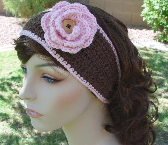 PDF Crochet Pattern - The Portland Headwrap