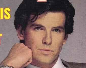 Pierce Brosnan Cover People Magazine 1986