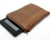Kindle Fire Case, Kindle Fire Sleeve, Kindle Fire Cover - Brown Woodgrain