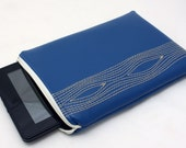 Kindle Case in Royal Blue Woodgrain for Kindle Fire