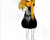 Winsor Yellow - Giclee Print 5x7