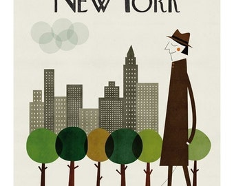 New York big print