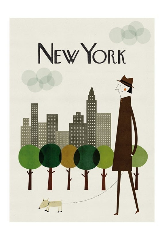 New York big print