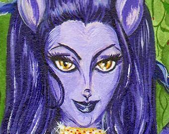 The Cheshire Cat Alice in Wonderland 8 x10 Print