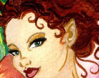 Primrose Fairy Print