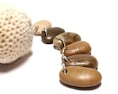 """Beach Stones Pebbles for Jewelry Pendants - Bead Strand Supply """"Natural Neutrals"""" by StoneMe"""
