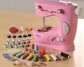 White Sew Easy mini sewing machine