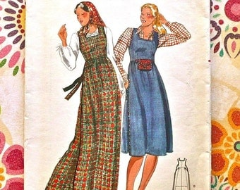 Vintage 1970s Womens Jumper Pattern - Butterick 5135