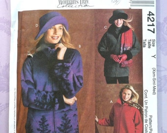 Women's Jacket and Hat Pattern - McCalls 4217