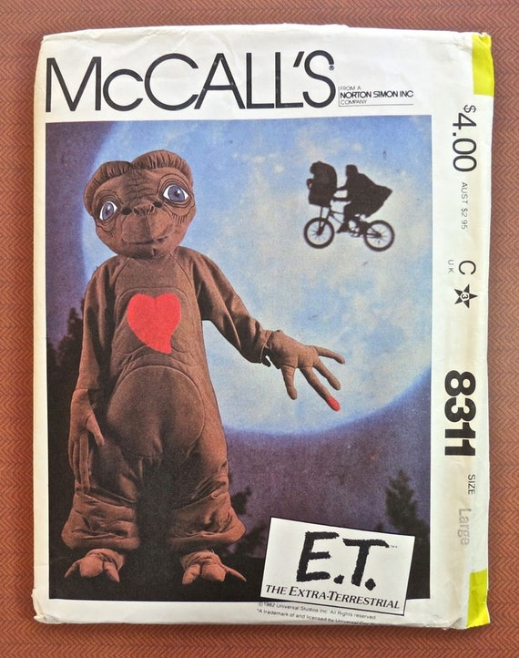 McCalls 8311 -Vintage 1980s E. T. Childs Costume Pattern