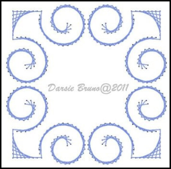 how to make paper embroidery patterns