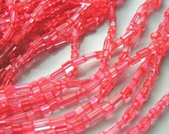 Coral Pink Seed Bead Variety Pack
