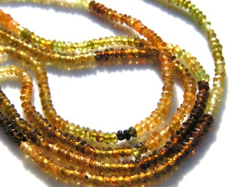 Tourmaline 2mm Faceted Rondelle Beads   HALF STRAND        SPRNG 2011