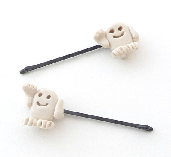 Adipose Hair Accessories Bobby Pins White Dr Who The Doctor Alien