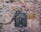 Rhinestone Cross