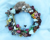 Pods and Bittersweet 10 inch wreath