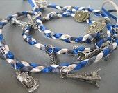 CLEARANCE-Bon Voyage Braided Charm Bracelet