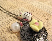 CLEARANCE-Antique Whimsy Necklace