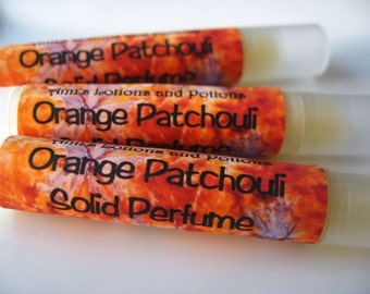 Orange Patchouli Solid Perfume