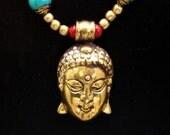 Compassionate Buddha and Turquoise