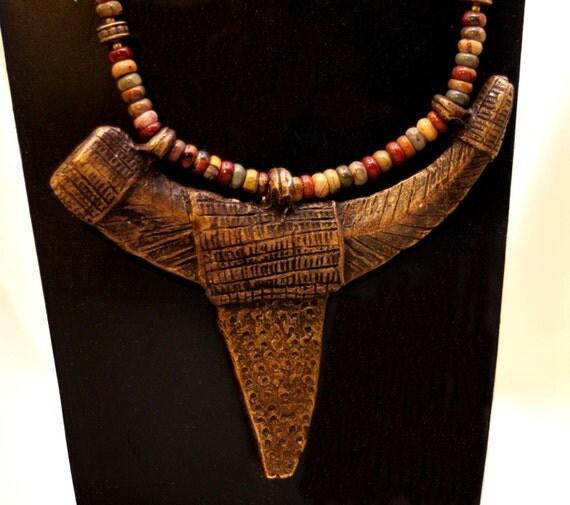Bronze Dogon Tribal Talisman