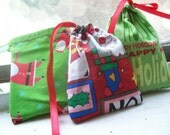 Christmas in July Ignored Christmas Fabric bags