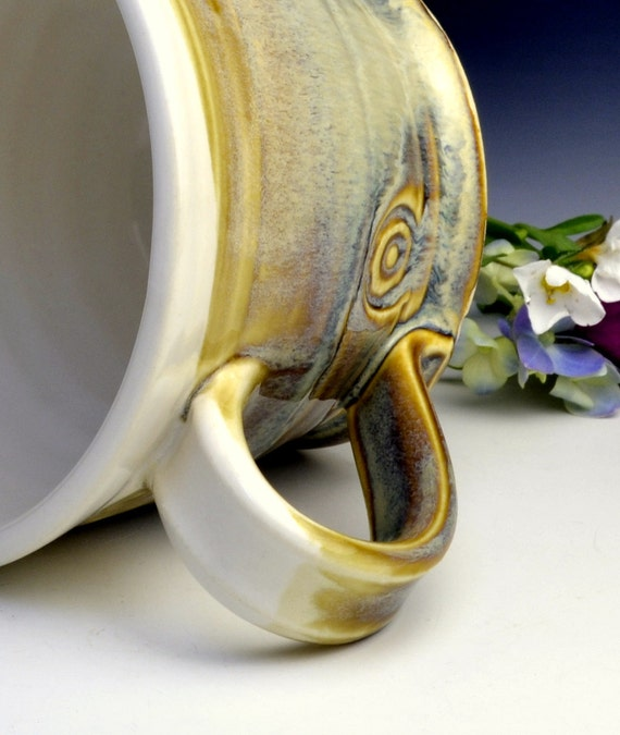 Porcelain Circle Coffee Cup