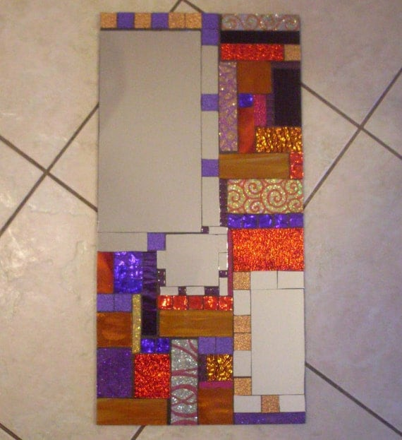 Mosaic Mirror CLEARANCE Contemporary