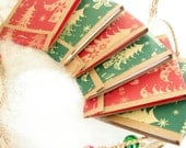 Holiday Matchbook Notepads - Set of 6 - Retro Pack