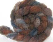 Octopussy - 2 oz Bond wool roving top hand dyed spinning fiber