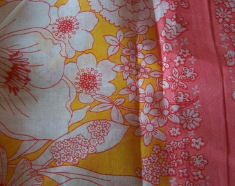 light and lovely pink and yellow fabric