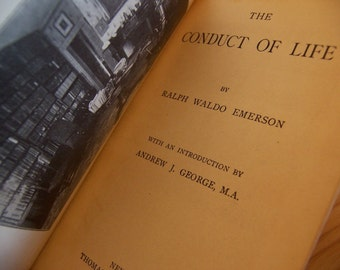 1903 the conduct of life emerson