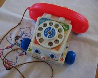 1961 1985 fisher price phone