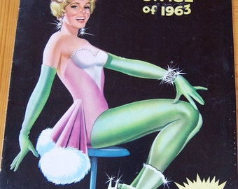 1963 holiday on ice souvenir program