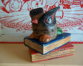 such a cute owl book end