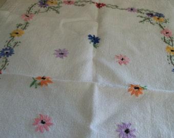 pretty floral placemat