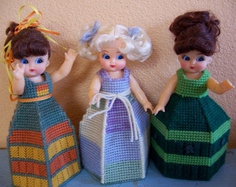 cute vintage dolls all made up