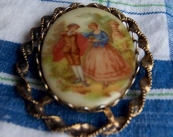 fragonard cameo brooch