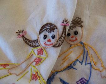 rag doll cuties towel