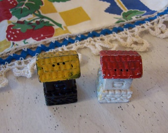 tiny cast iron houses shakers