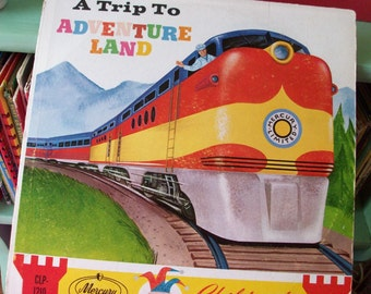 a trip to adventure land vintage childrens record