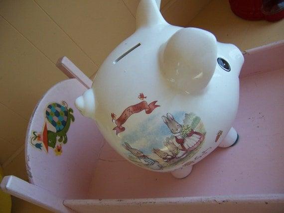 pecoware sweet family piggy bank