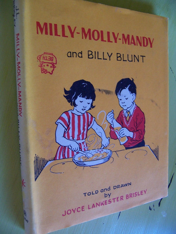1967 milly-molly-mandy and billy blunt