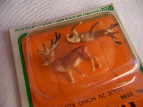fibre craft miniature deer